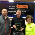 Aberdeen Home Show Best Small booth Winner Ladner Electric