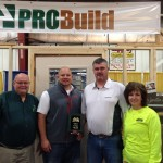 Aberdeen Home Show Large booth winner Pro Build