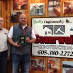 Aberdeen home show builder booth of the year
