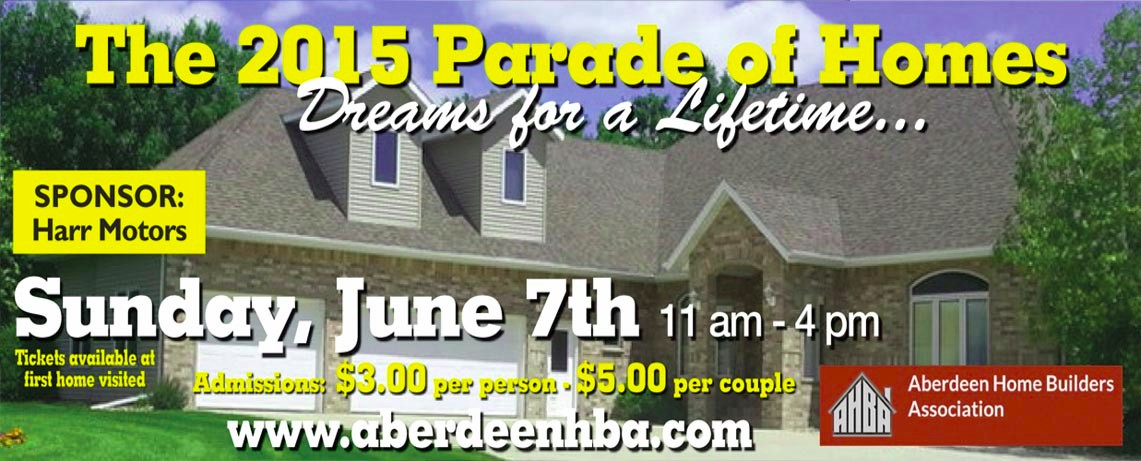 2015 Parade of Homes Aberdeen SD